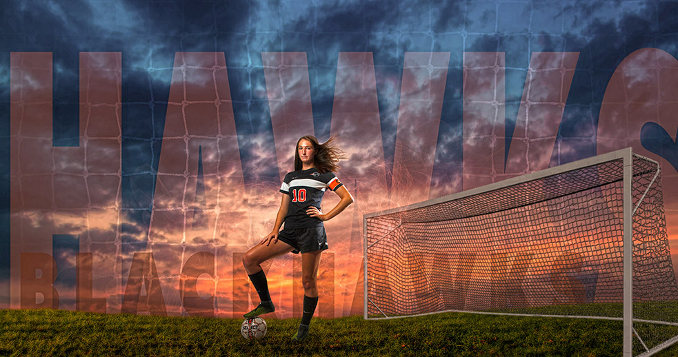 soccer senior pictures